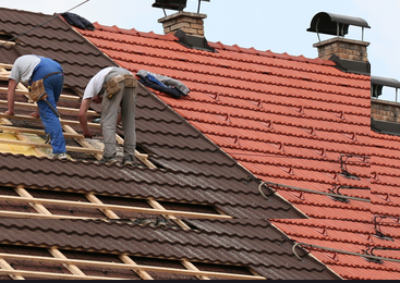 low cost repair on roofs